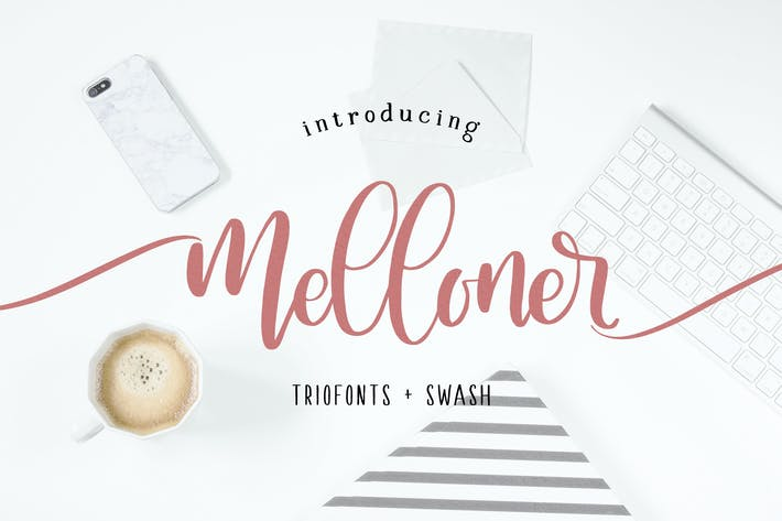 Thumbnail for Melloner Fonts