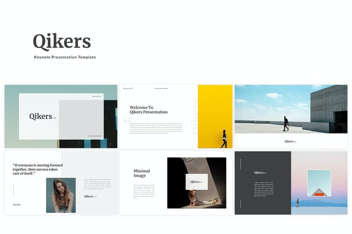 Thumbnail for Qikers Keynote Template