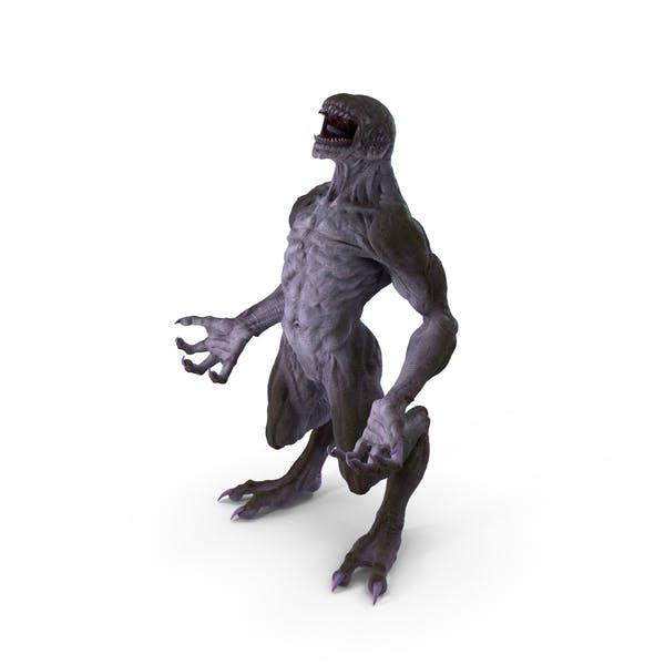 Monster Beast Standing Pose