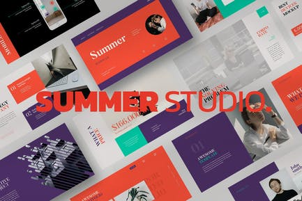 Summer Keynote Template