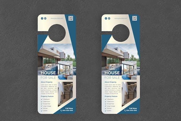 Home Sale Door Hanger Creative Promotion