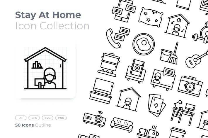 Thumbnail for Zu Hause bleiben Gliederungssymbol