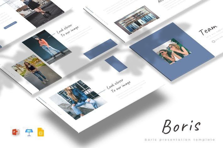 Thumbnail for Boris - Powerpoint/Google Slides/Keynote Template