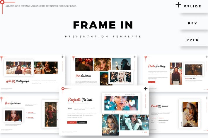 Frame In - Presentation Template