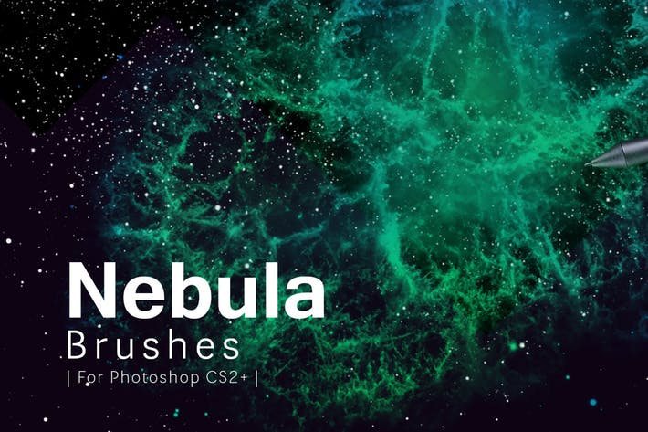Thumbnail for Nebula Photoshop Brushes