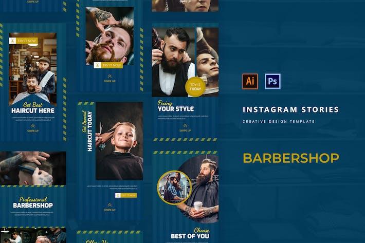 Thumbnail for Histoire Instagram Moderne Barbershop