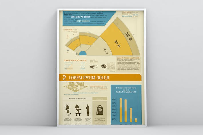 Thumbnail for Business Marketing Infographics Template
