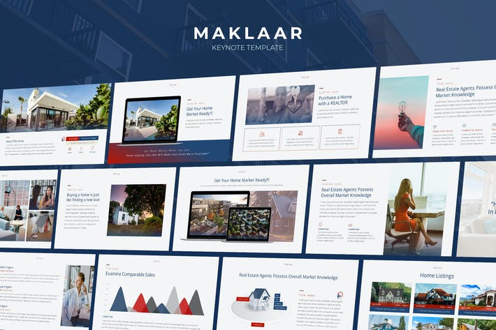 Maklaar - Property Business Keynote Template