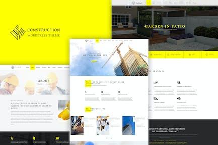 Construction - Thème de la construction réactive