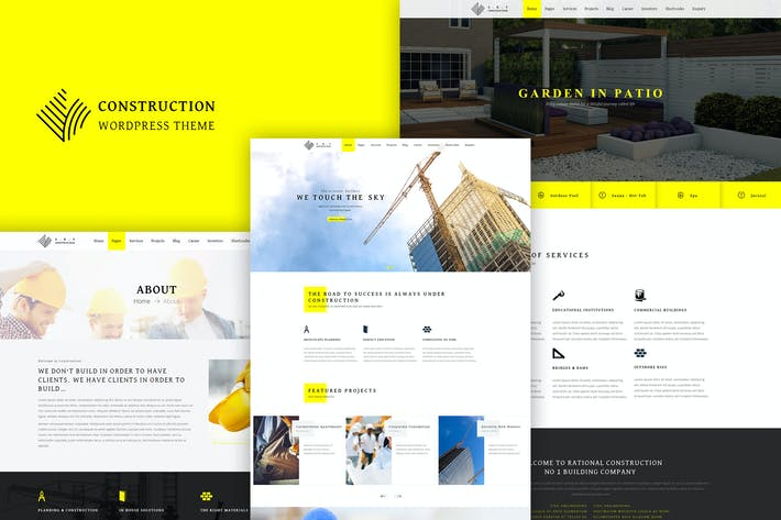 Thumbnail for Construction - Responsive Construction Theme