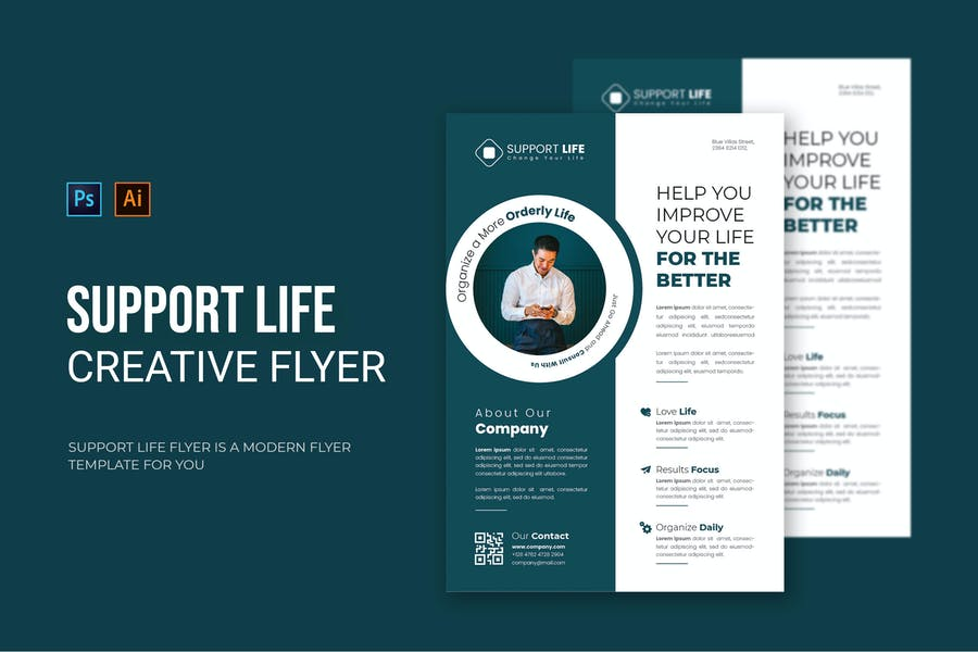 Support Life - Flyer
