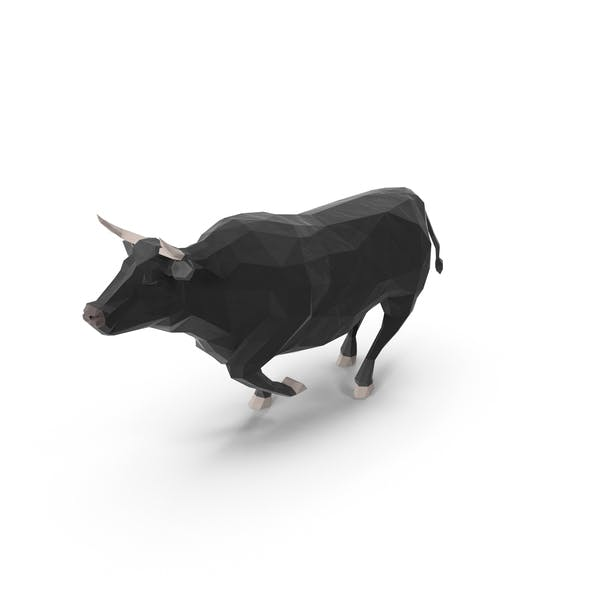 Thumbnail for Low Poly Bull