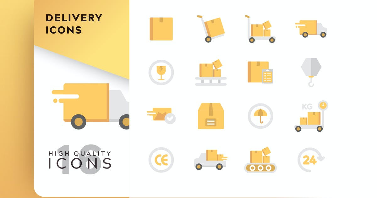 Download DELIVERY FLAT COLOR by subqistd