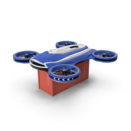 Heavy Duty Cargo Quadrocopter Drone