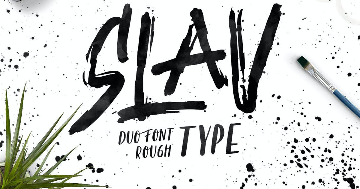 Slav Type by maghrib