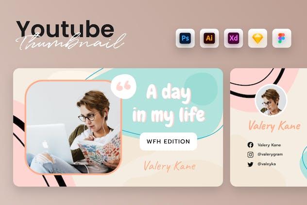 Youtube Thumbnail Banner Kit Template