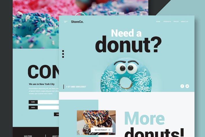 Thumbnail for Restaurant & Food - Website