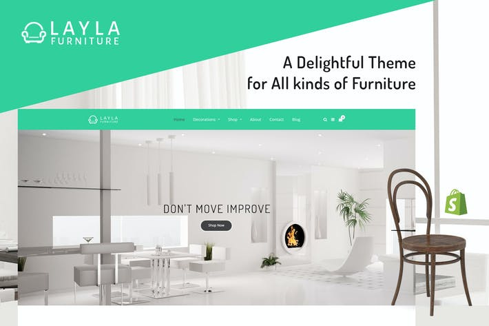 Thumbnail for Layla - Furniture Shopify Theme
