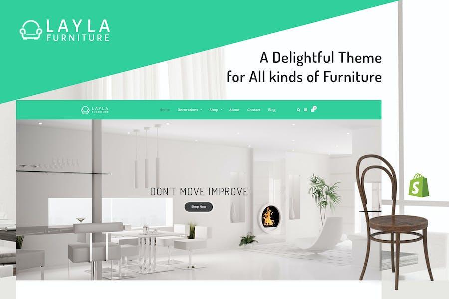 Layla - Furniture Shopify Theme