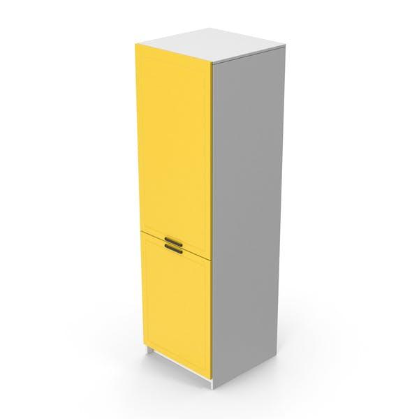 Kitchen Cabinet Yellow