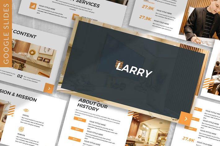 Thumbnail for Larry - Business Google Slide Template