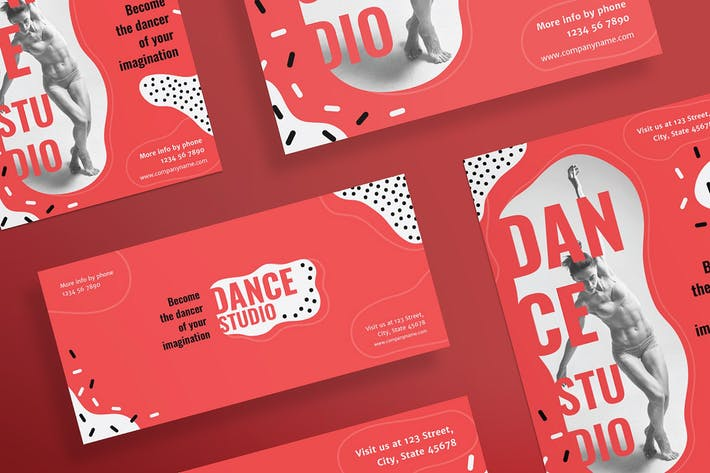 Thumbnail for Dance Studio Flyer and Poster Template