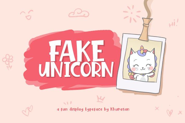 Thumbnail for Unicornio falso