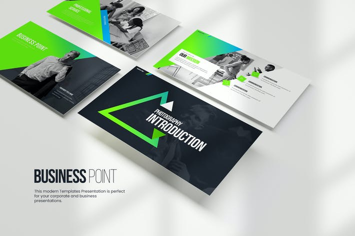 Thumbnail for Business Point PowerPoint