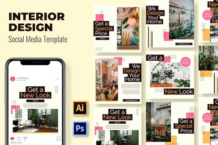Thumbnail for New Look Interior Social Media