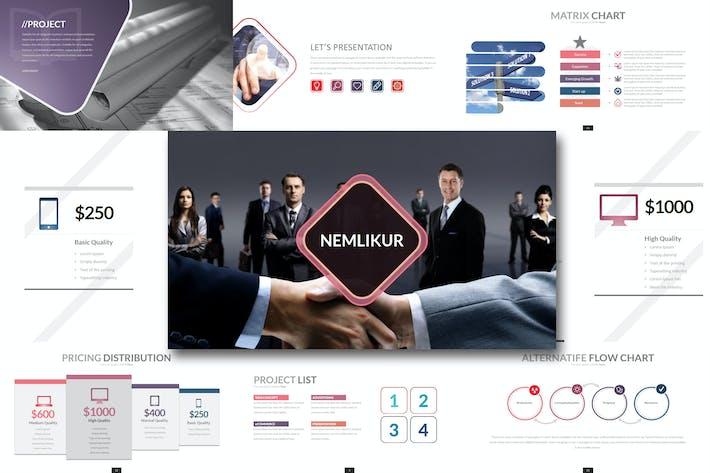 Thumbnail for Nemlikur - Keynote Template