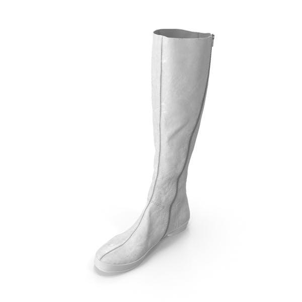 Women's High Heel Shoes White
