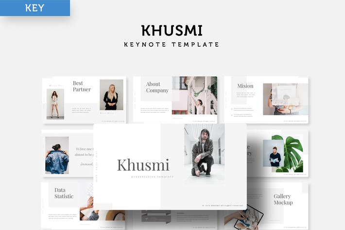 Thumbnail for Khusmi - Keynote Template