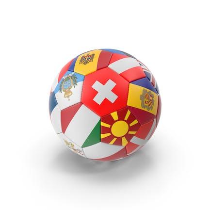 Balón de fútbol internacional