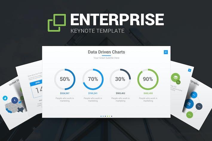 Enterprise Keynote Template