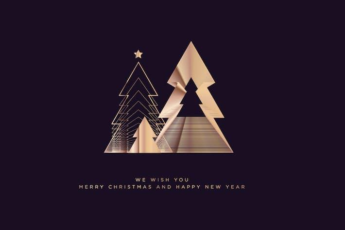 Thumbnail for Weihnachts- und Neujahrsgrußkarte