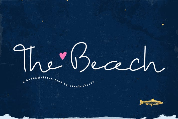Thumbnail for The Beach Font