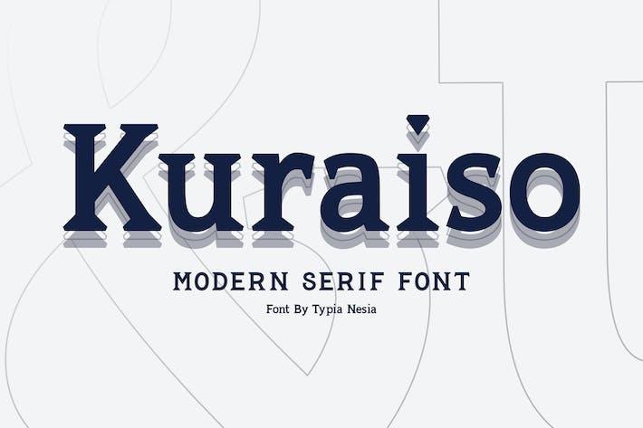 Thumbnail for Kuraiso Serif Font