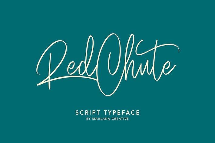 Thumbnail for RedChute Modern Script Typeface Handmade Brush