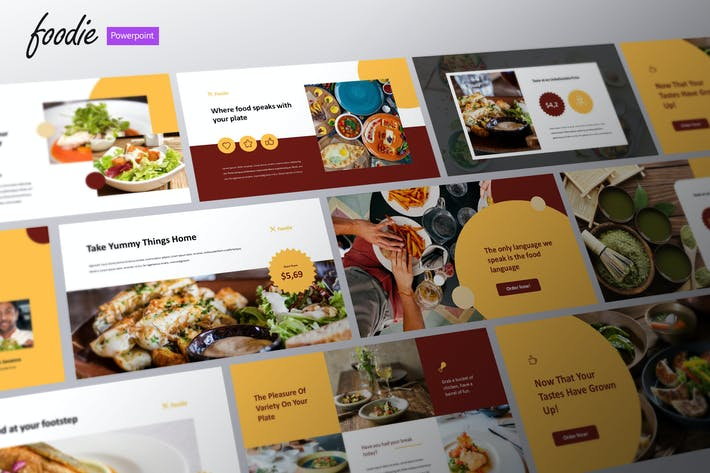 Foodie - Culinary Business Powerpoint