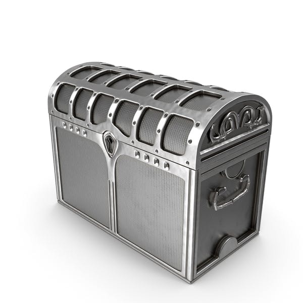 Silver Chest Locked