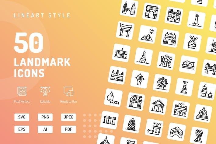 Thumbnail for Symbole für Orientierungspunkte