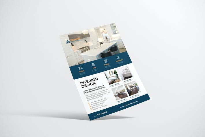 Thumbnail for Clean Interior Flyer Design