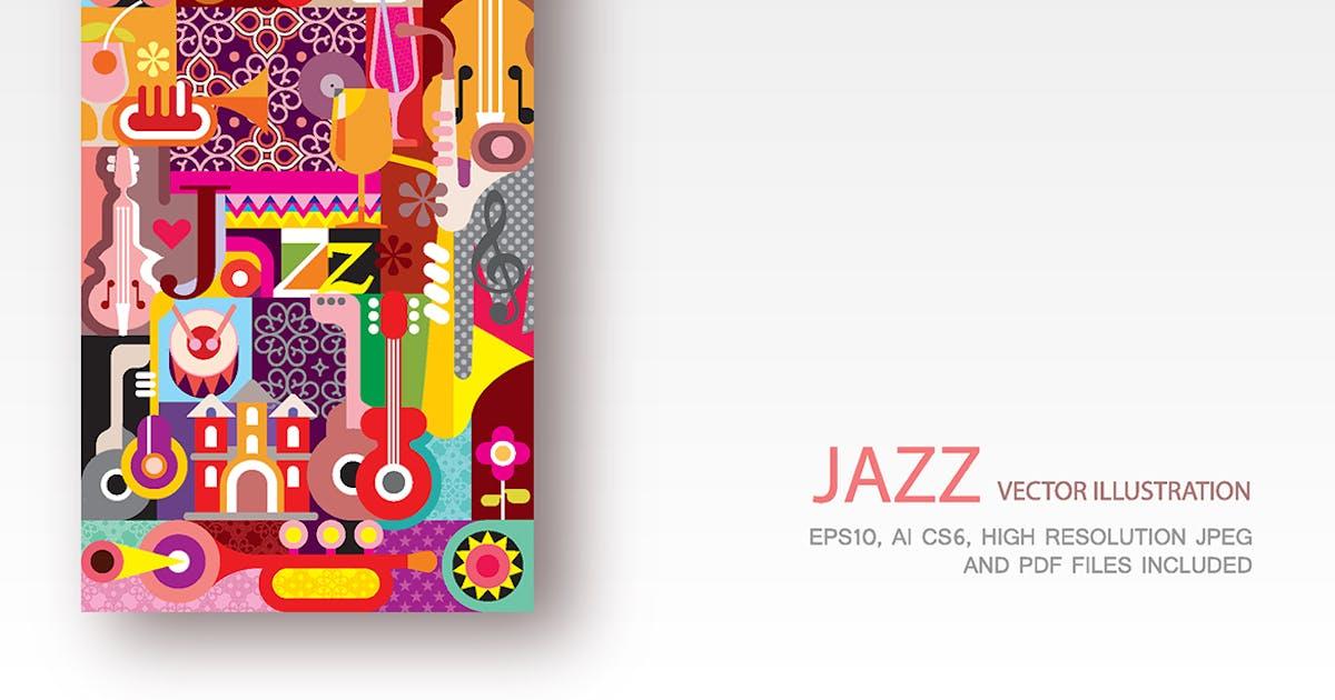 Download Jazz Festival Poster vector illustration by danjazzia