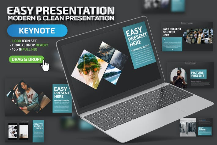 Thumbnail for Easy Keynote Presentation