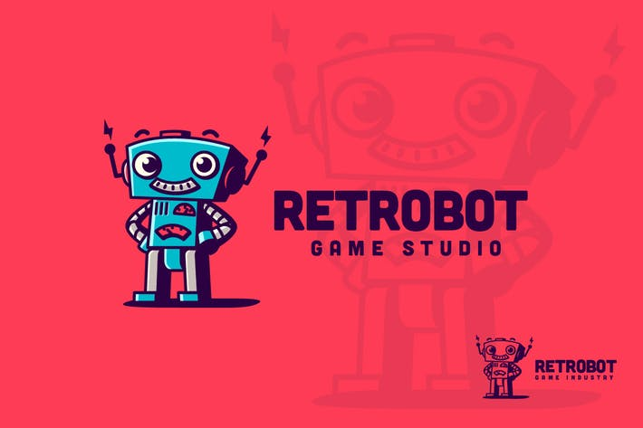 Thumbnail for Retrobot - Vintage Toy Robot Logo