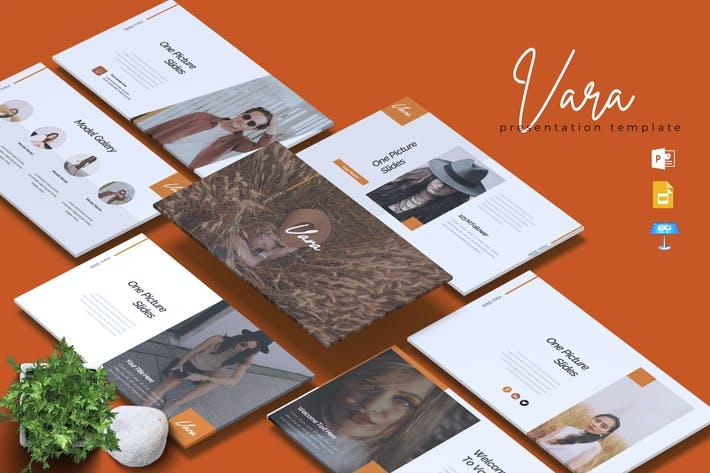 Thumbnail for VARA - Fashion Powerpoint/Google Slide/Keynote