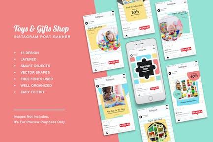 Toys & Gift Shop Instagram Post Banner