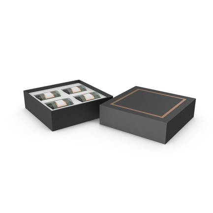 Gift Box with 4 Candles