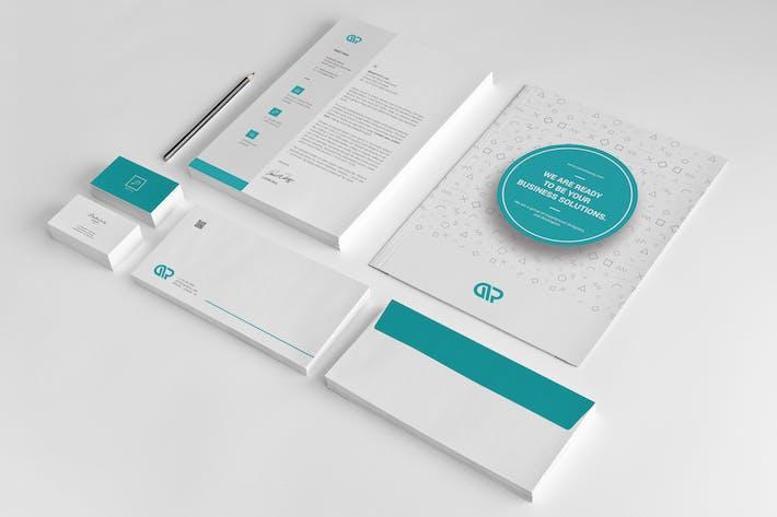 Thumbnail for Branding Stationery Pack