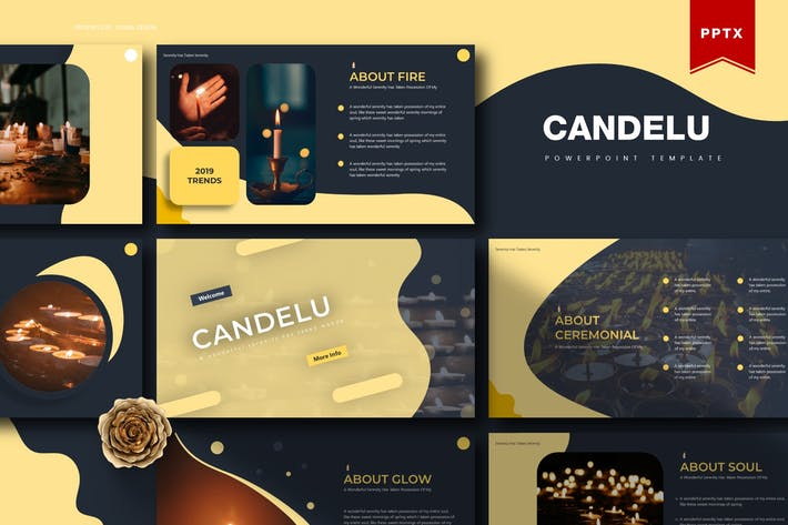 Candelu | Powerpoint Template